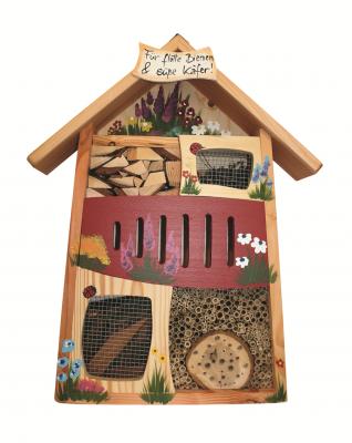 Insektenquartier groß bemalt personalisierbar
