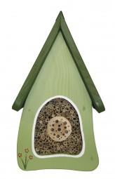 Insektenvilla klein Wandmontage, hellgrün
