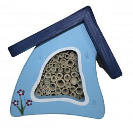 Insektenstübchen Wandmontage, hellblau