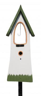 Glockenturm, weiß