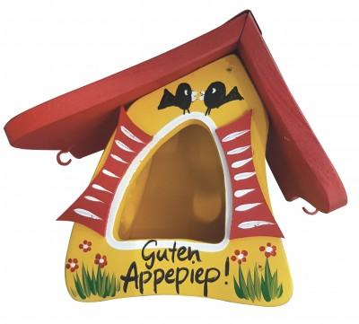 Futterhaus - Futtermini Guten Appepiep langes Dach mit Haken