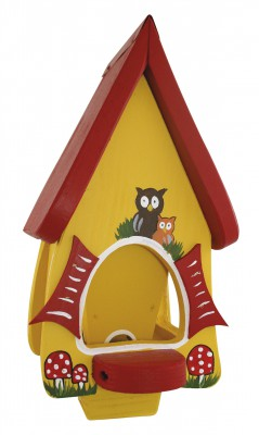 "Futterhaus ""Futtervilla mini Hobbit Eulen"""