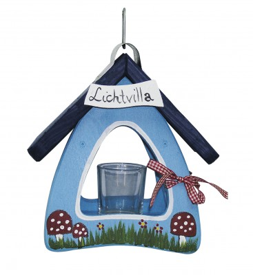 Lichtvilla Mini Pilze hellblau