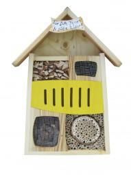 Insektenquartier Für flotte Bienen & süße Käfer gelb