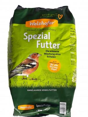 Welzhofer Spezial Futter 10 Kg - Die erlesene Mischung ohne Schalen