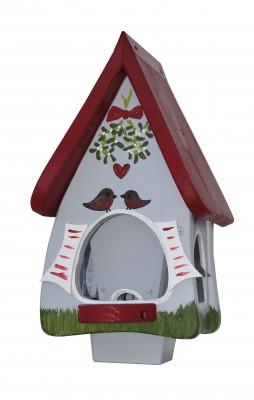 Futterhaus mit Silo - Futtervilla klein Hobbit Mistelzweig