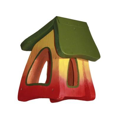 Futterhaus - Futtermini Regenbogen