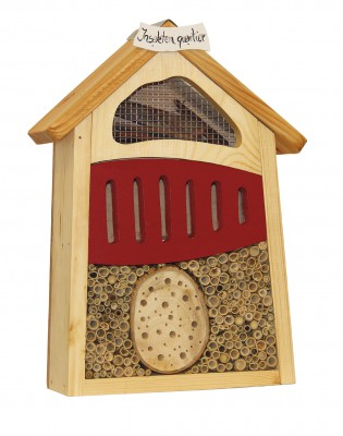Insektenquartier klein, rot