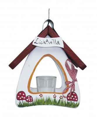 Lichtvilla Mini Pilze weiß