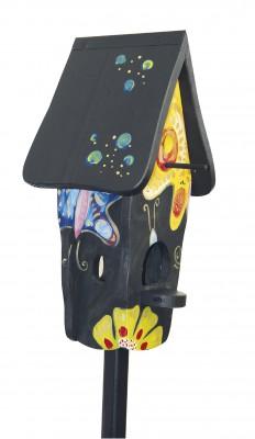 Kombiniertes Vogelhaus - Minivilla 1 Papillon