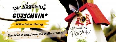 Vogelvilla Geschenk-Gutschein