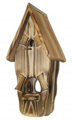 Kombiniertes Vogelhaus - Minivilla 1 rustikal