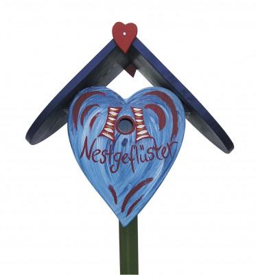 Herznistkasten klein Nestgeflüster hellblau