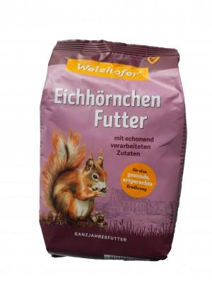 Welzhofer Eichhörnchen Futter 1 Kg - Mit artgerechten Zutaten