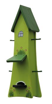Futterturm groß kiwigrün