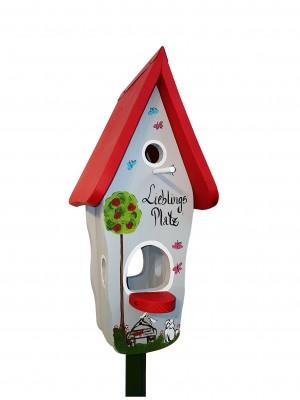 Kombiniertes Vogelhaus - Minivilla 1 Lieblingsplatz